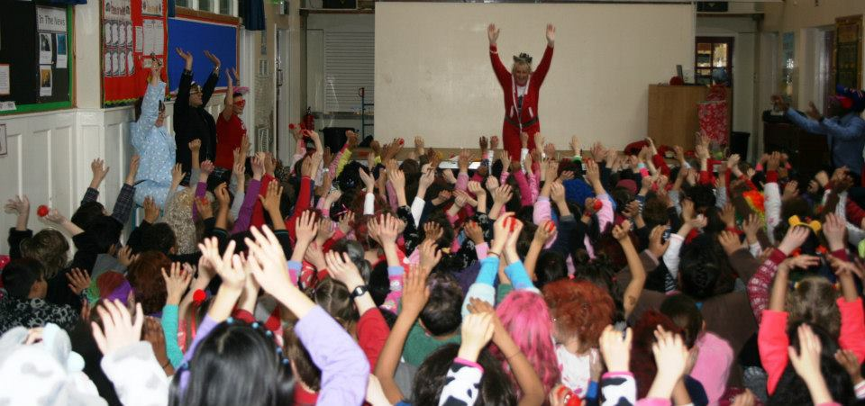 Laughter for Comic Relief- School Assembly