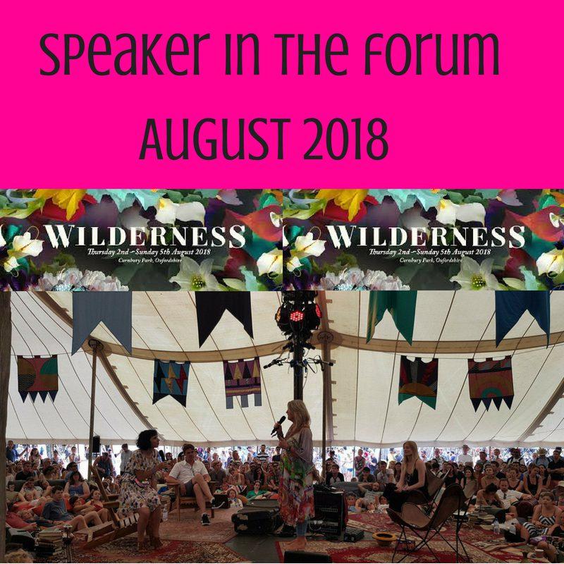 Speaker at Wilderness 2018